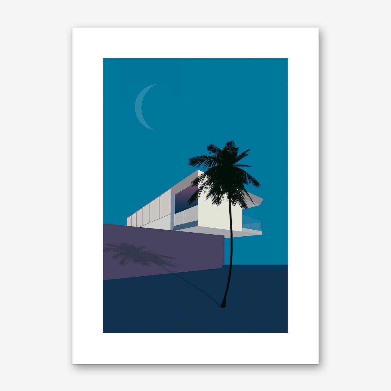 Minimal House 2 Art Print