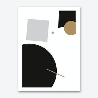 Minimal Geometric 2 Art Print