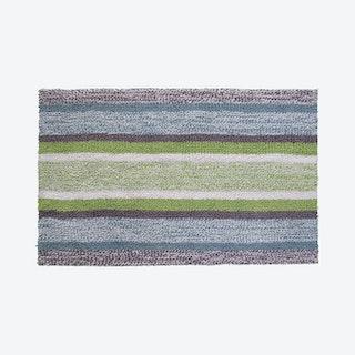Striped Bath Rug - Multicolored