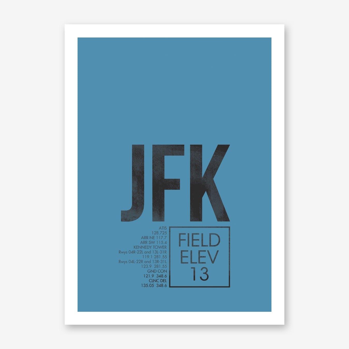 JFK Airport ATC Art Print