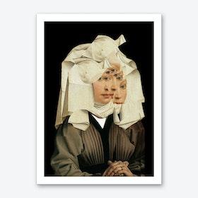 Another Portrait Disaster · van der Weyden 2 Art Print