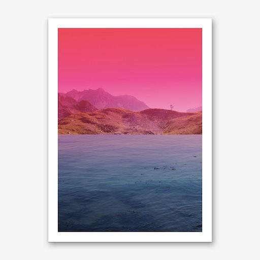 Atmosphere 60 · Pink Art Print