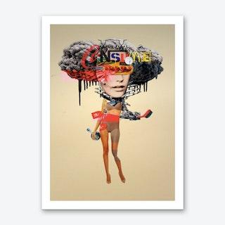 Bella Bomb Art Print
