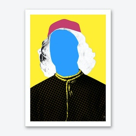 Pop Portrait Disaster 5 Art Print