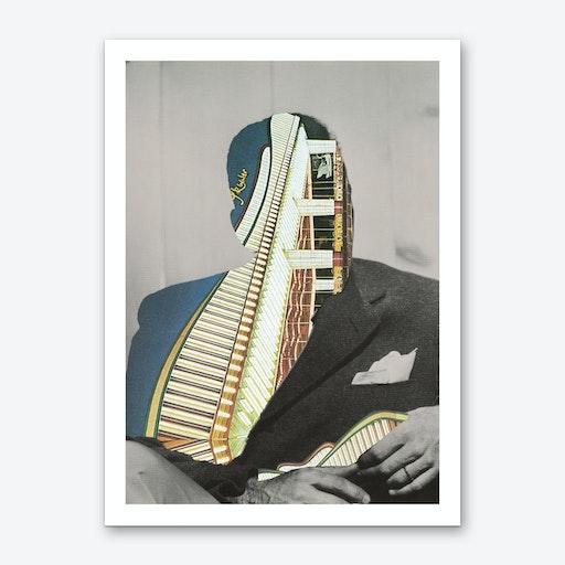 The Hollywood Carousel 3 Art Print