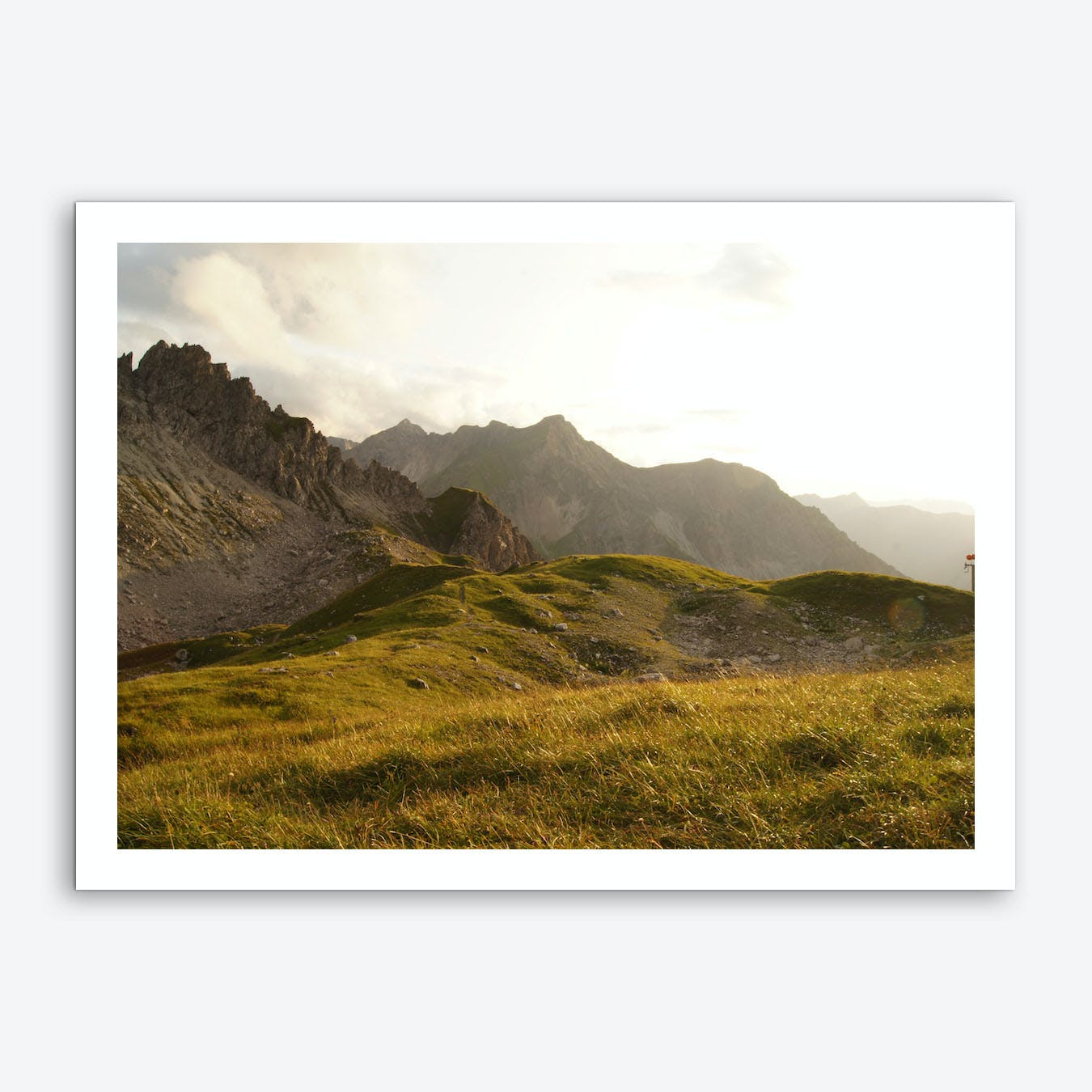 Mountain View 5 Art Print
