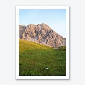 Mountain View 11 Art Print