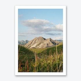 Mountain View 37 Art Print