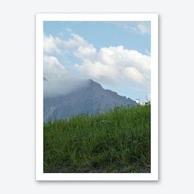 Mountain View 50 Art Print