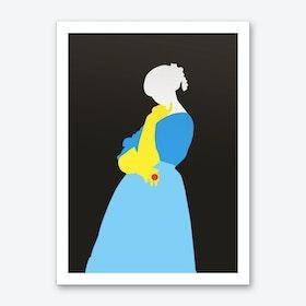 Pop Portrait · Ingres 1 Art Print