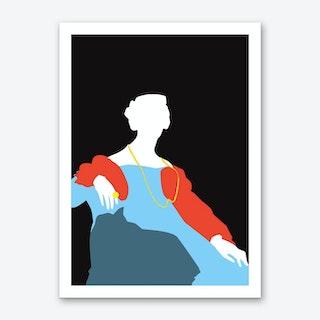 Pop Portrait · Ingres 6 Art Print