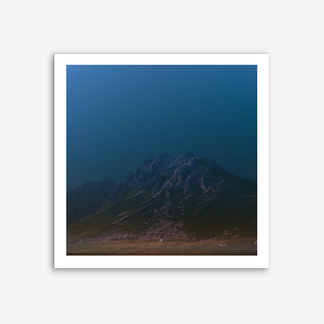 Atmosphere · Blue 5 Art Print