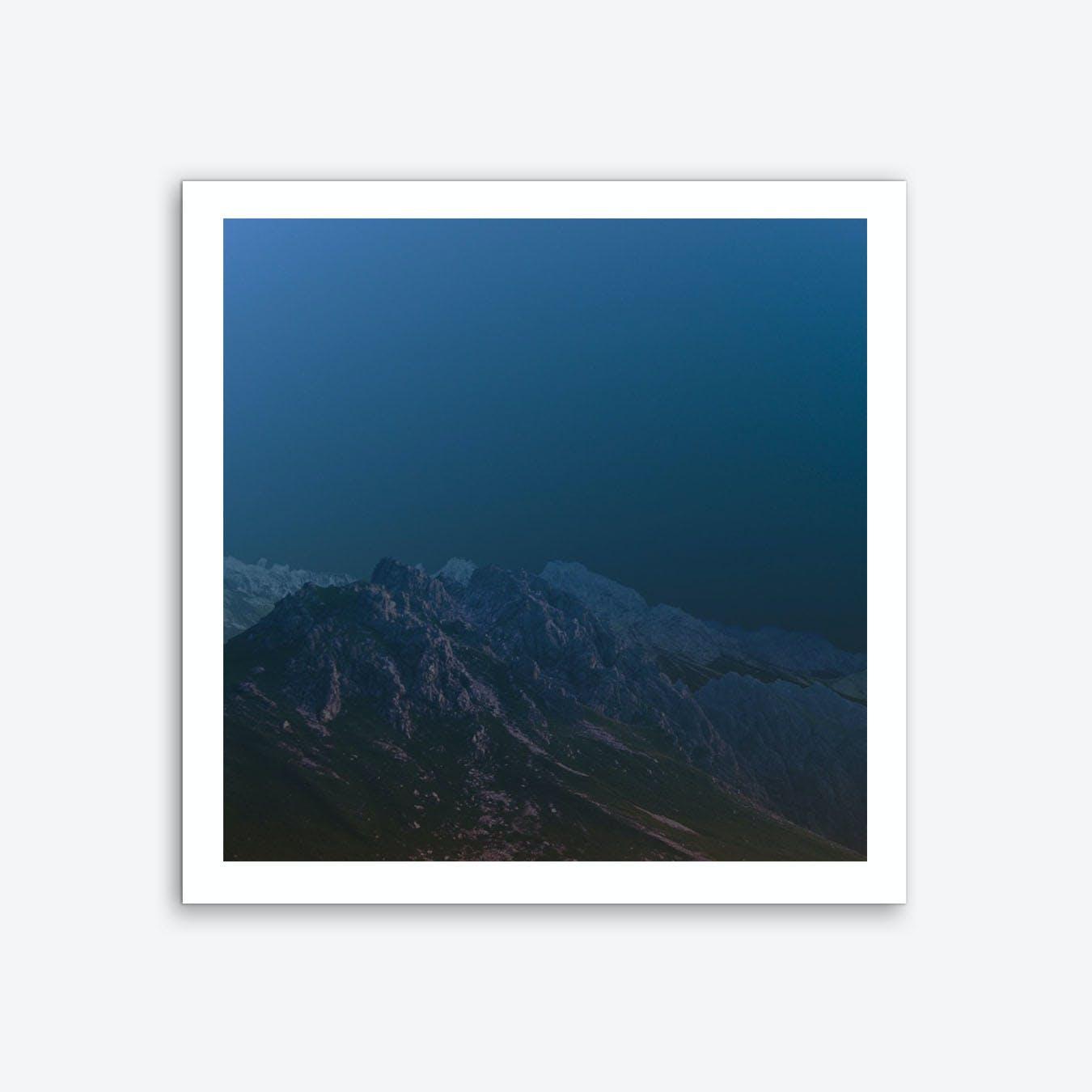 Atmosphere · Blue3 Art Print