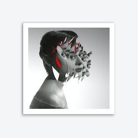Audrey X Mix 1 Art Print