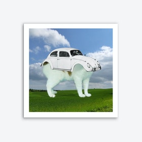 Auf den Hund gekommen Art Print