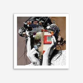 Crazy Woman LisaLara Mix Art Print