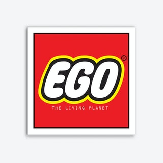 EGO · The Living Planet Art Print