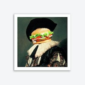 Frans Burger Hals Art Print
