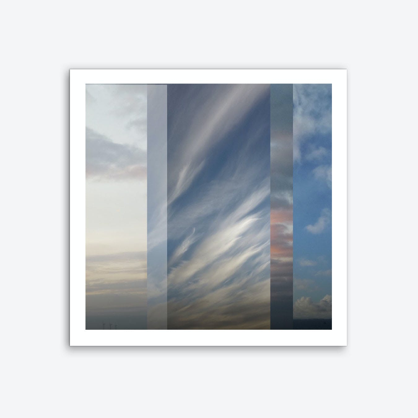 Northern Sky Fragments 1 Art Print