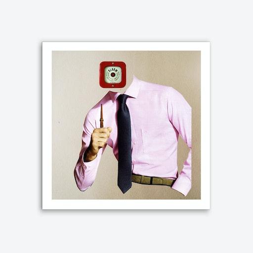 The Alarm Buisiness Man Art Print