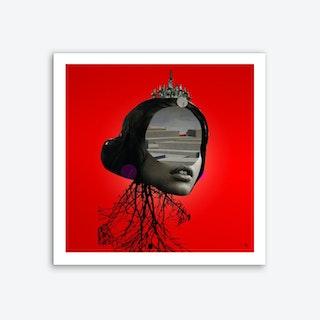 The Red Girl 1 Art Print