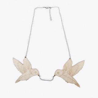 Flying Bird Necklace