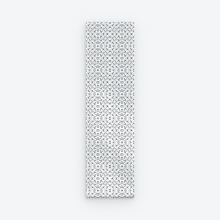Oyster Shell Peel and Stick Wallpaper - Grey / White