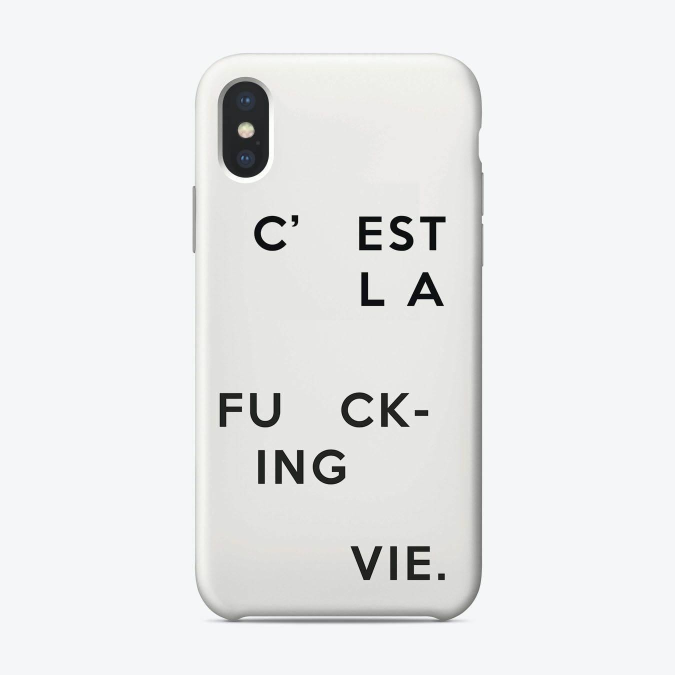 C'Est La Fucking Vie_ iPhone Case