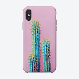 Flouro Cactus iPhone Case