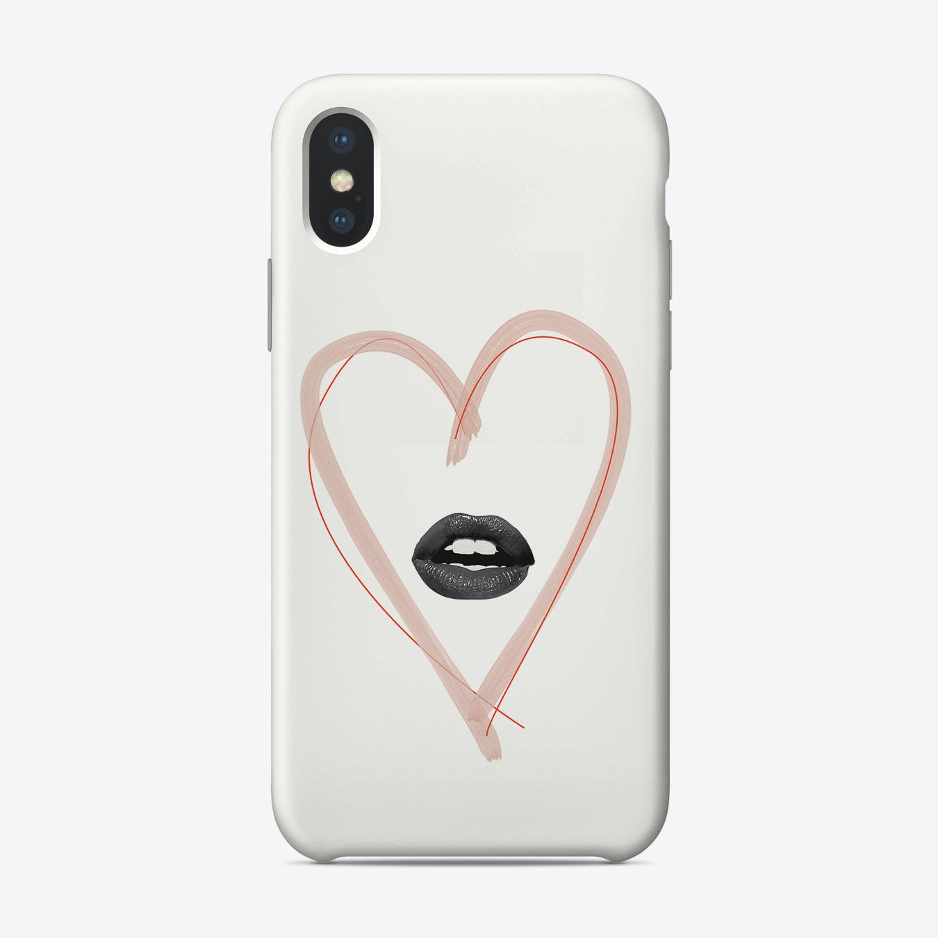 Hot Tramp I Love You So iPhone Case
