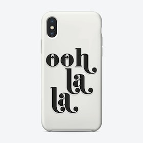 Ooh La La iPhone Case