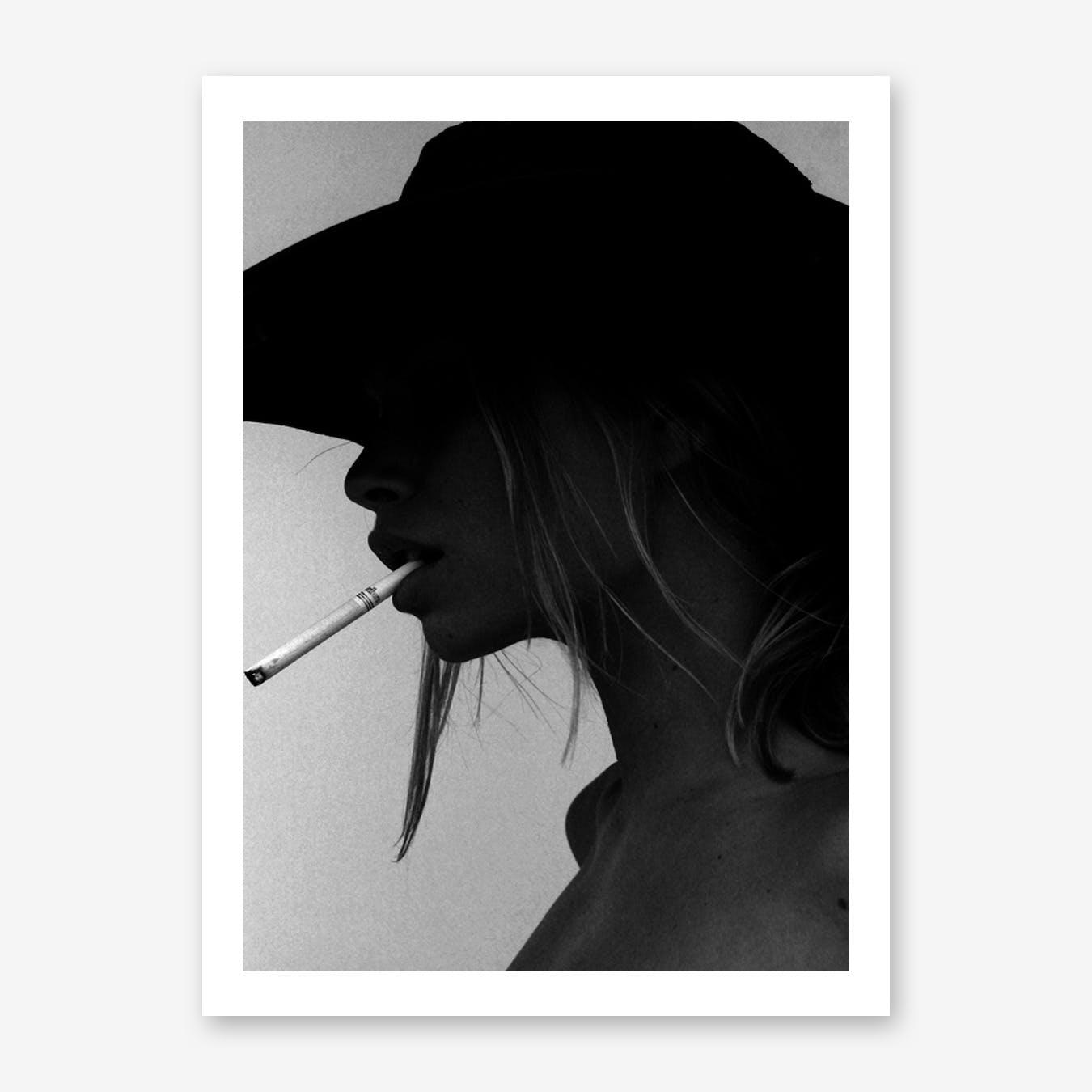 Smoking Hot Art Print