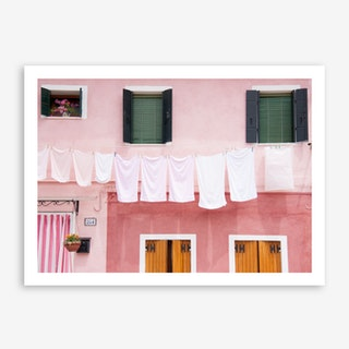 Dirty Laundry In Art Print