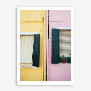Holiday Home In Art Print