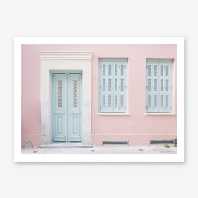 Pastel Palace In Art Print