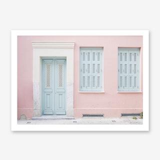Pastel Palace In Art Print