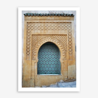 Rock The Kasbah In Art Print