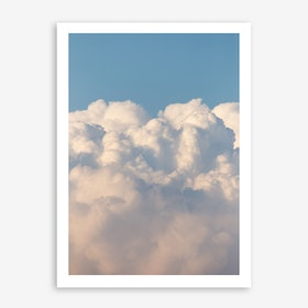 Skies Of Blue In Art Print