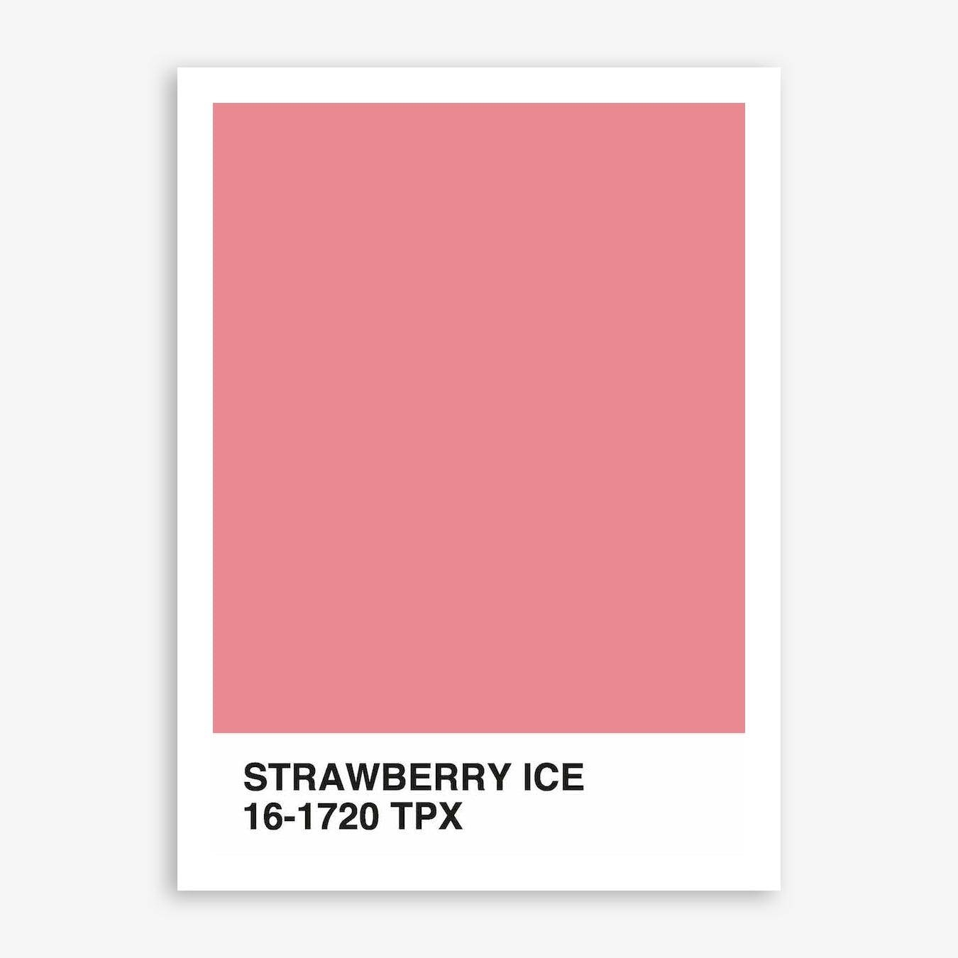 Strawberry Ice In Print