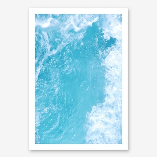 The Surf In Art Print