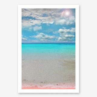 Tropical Paradise In Art Print