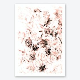 Florals Afterdark Bleached Print