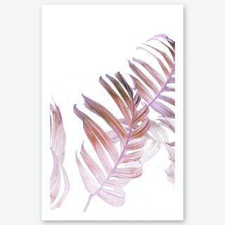 Moody Monstera Art Print