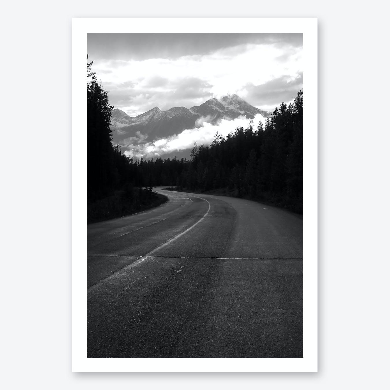 Take the Long Road Art Print