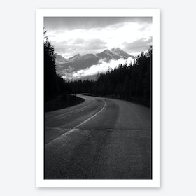 Take the Long Road Art Print