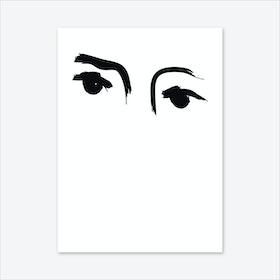 Blinkers Art Print