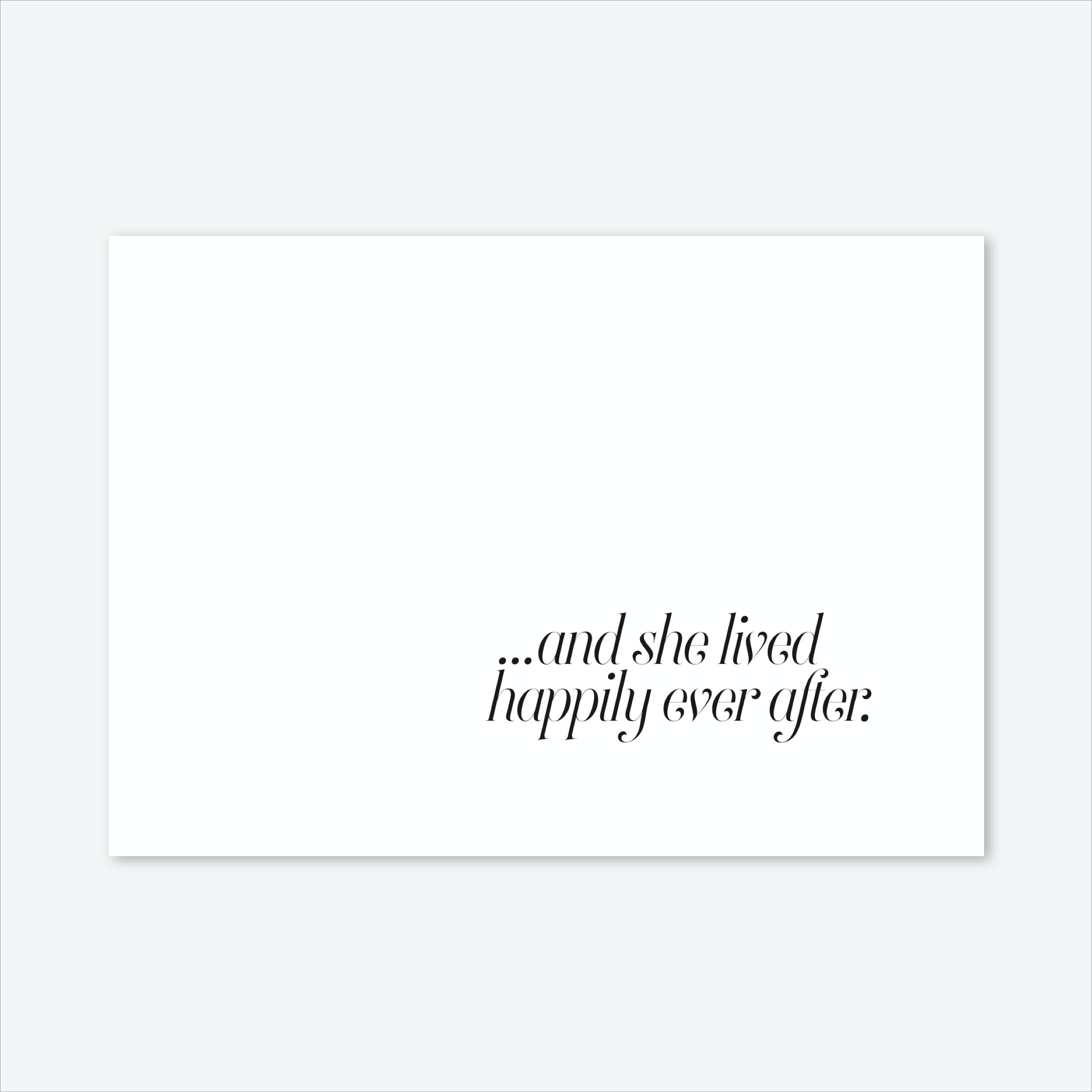 And She Lived Art Print