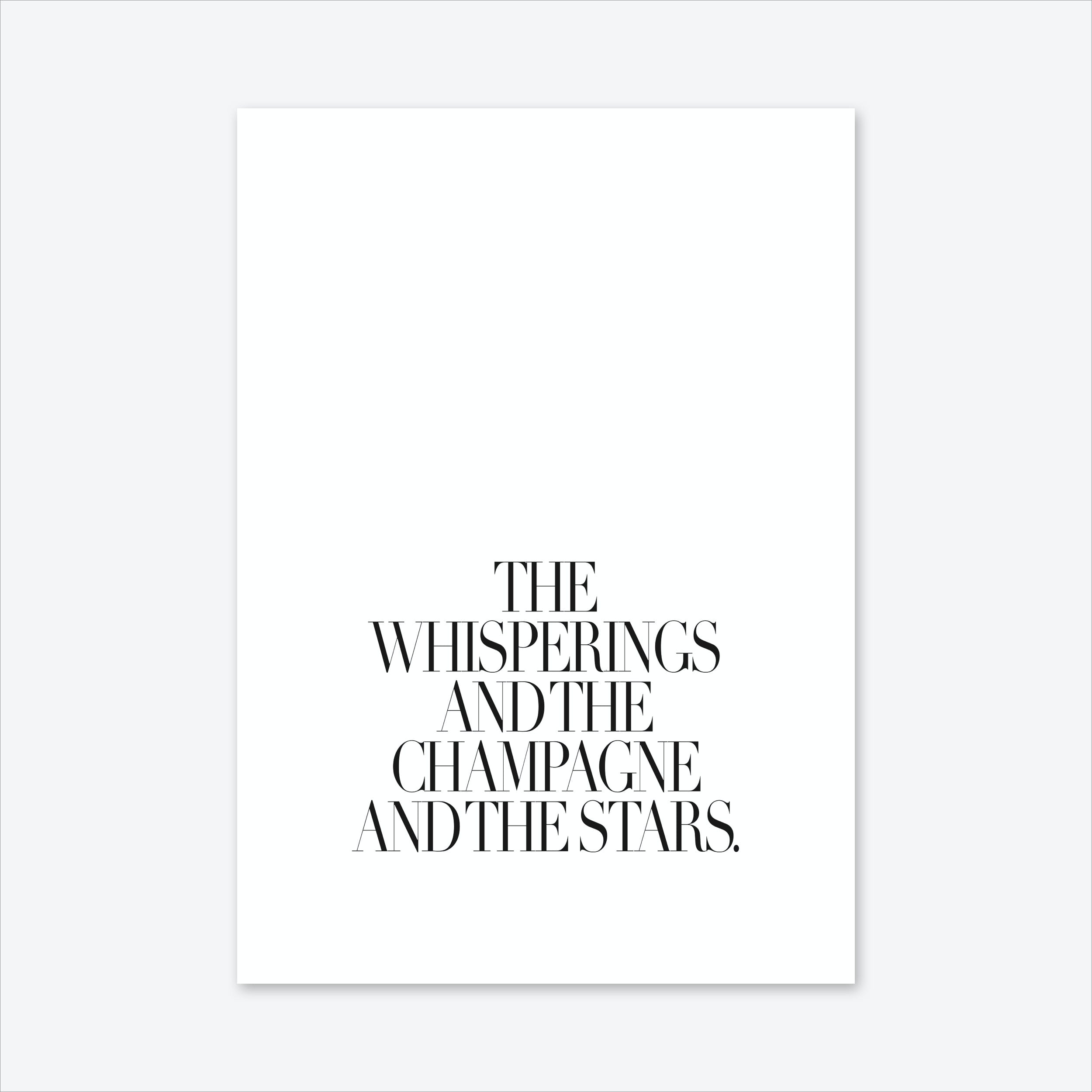 The Whisperings Art Print