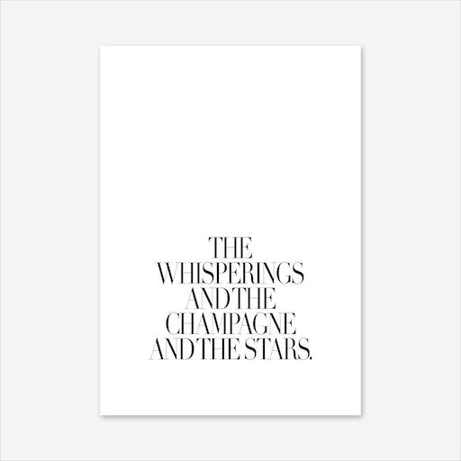 The Whisperings Art Print