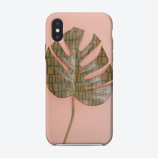 Tribal Leaf iPhone Case